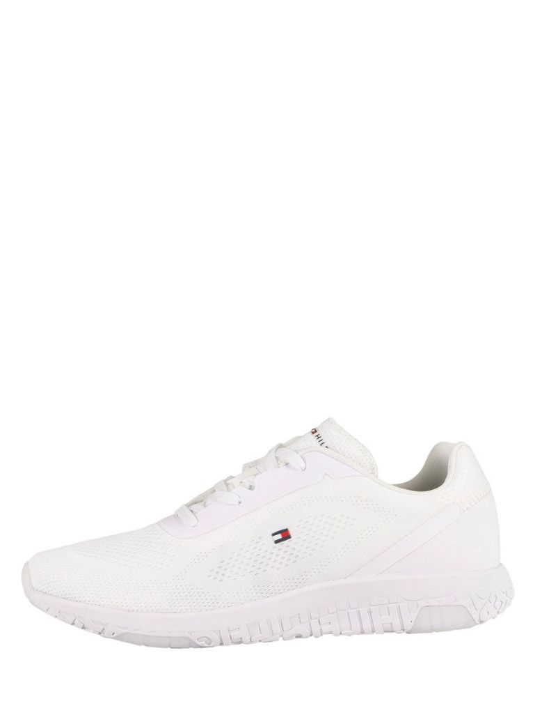 Tommy Hilfiger Lightweight Tech Mesh Trainers White