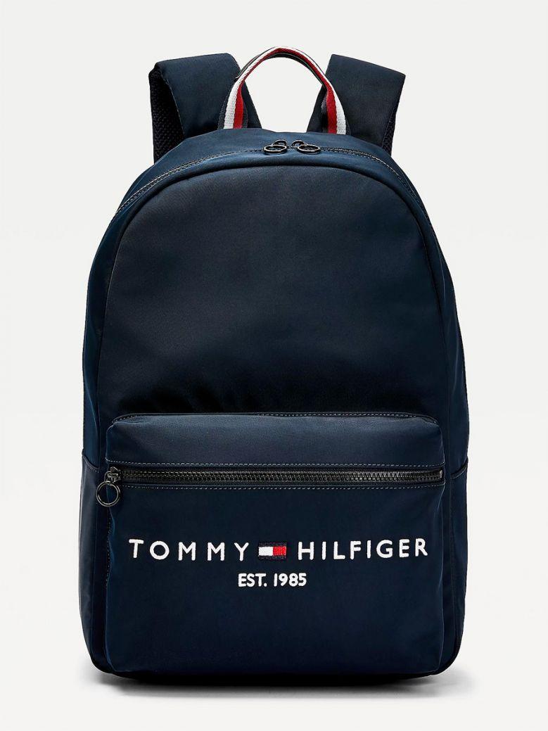 Tommy Hilfiger Established Logo Embroidery Backpack Desert Sky
