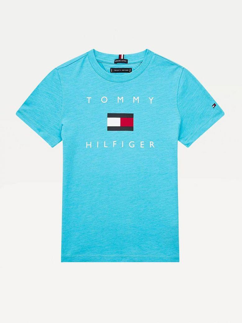 Tommy Hilfiger Logo T-Shirt Blue