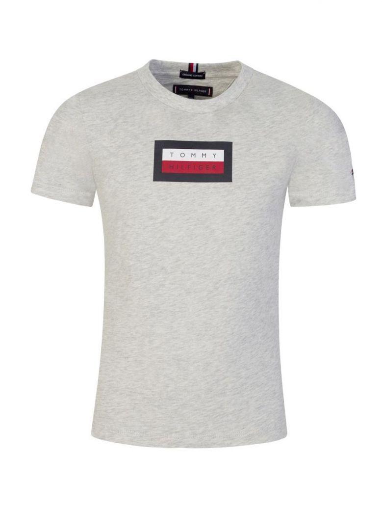 Tommy Hilfiger Logo T-Shirt Grey