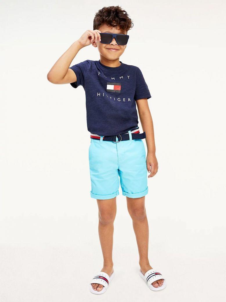 Tommy Hilfiger Logo T-Shirt Navy