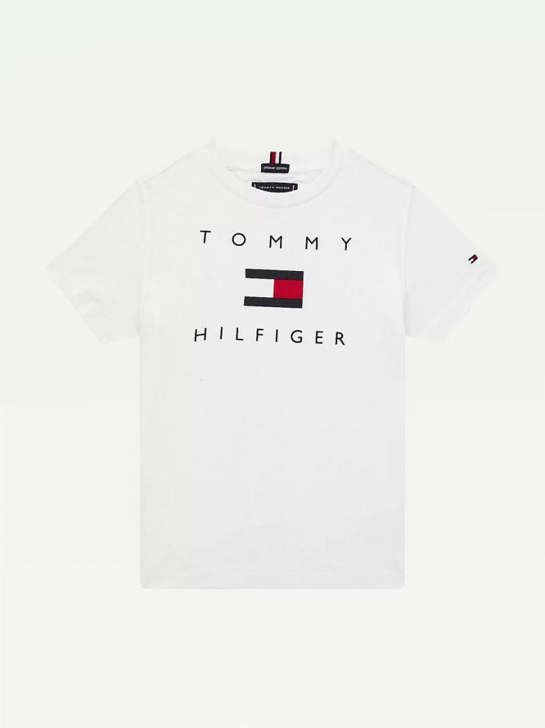 Tommy Hilfiger Logo T-Shirt White