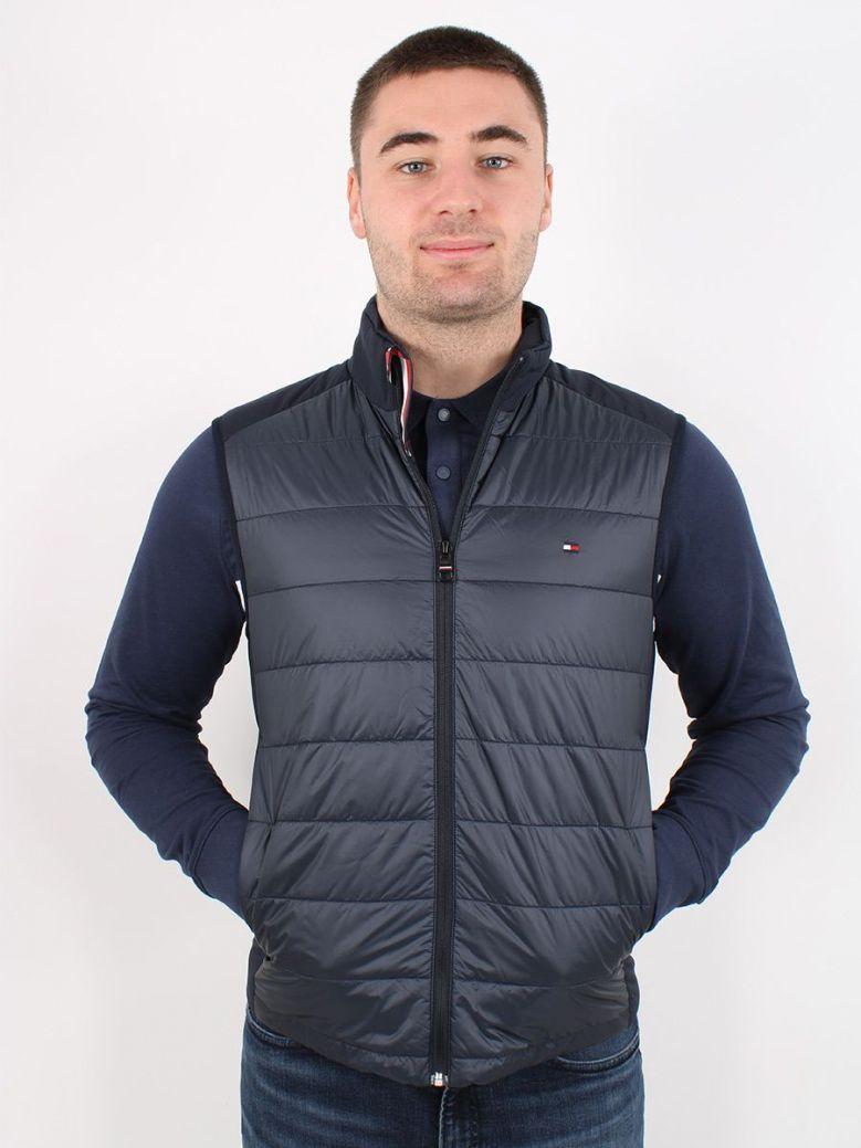 Tommy Hilfiger Packable Circular Jacket Navy