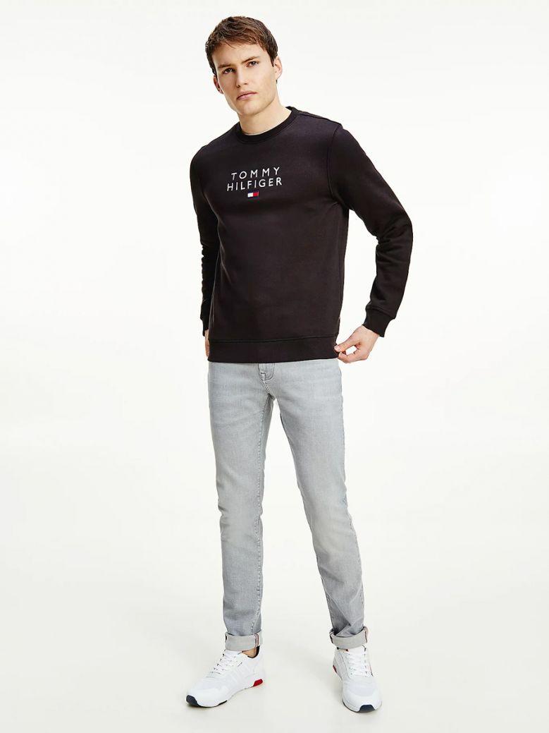 Tommy Hilfiger TH Flex Fleece Sweatshirt Navy