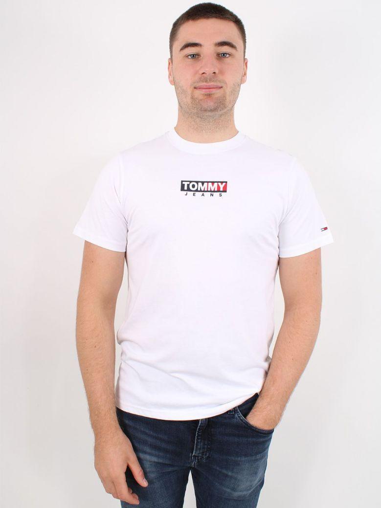 Tommy Jeans Logo Print T-Shirt White
