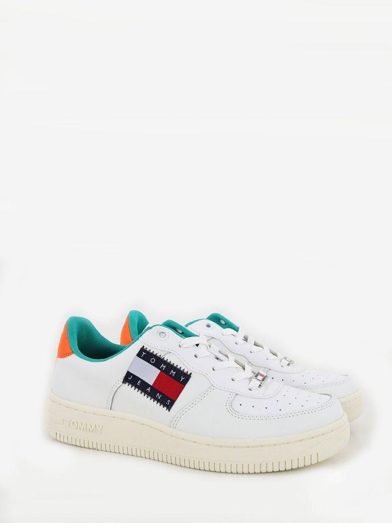 Tommy Jeans Low Cut Basket Sneaker Cream