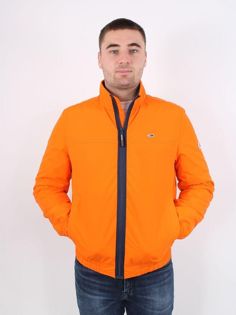 Tommy Jeans Essential Padded Jacket Orange