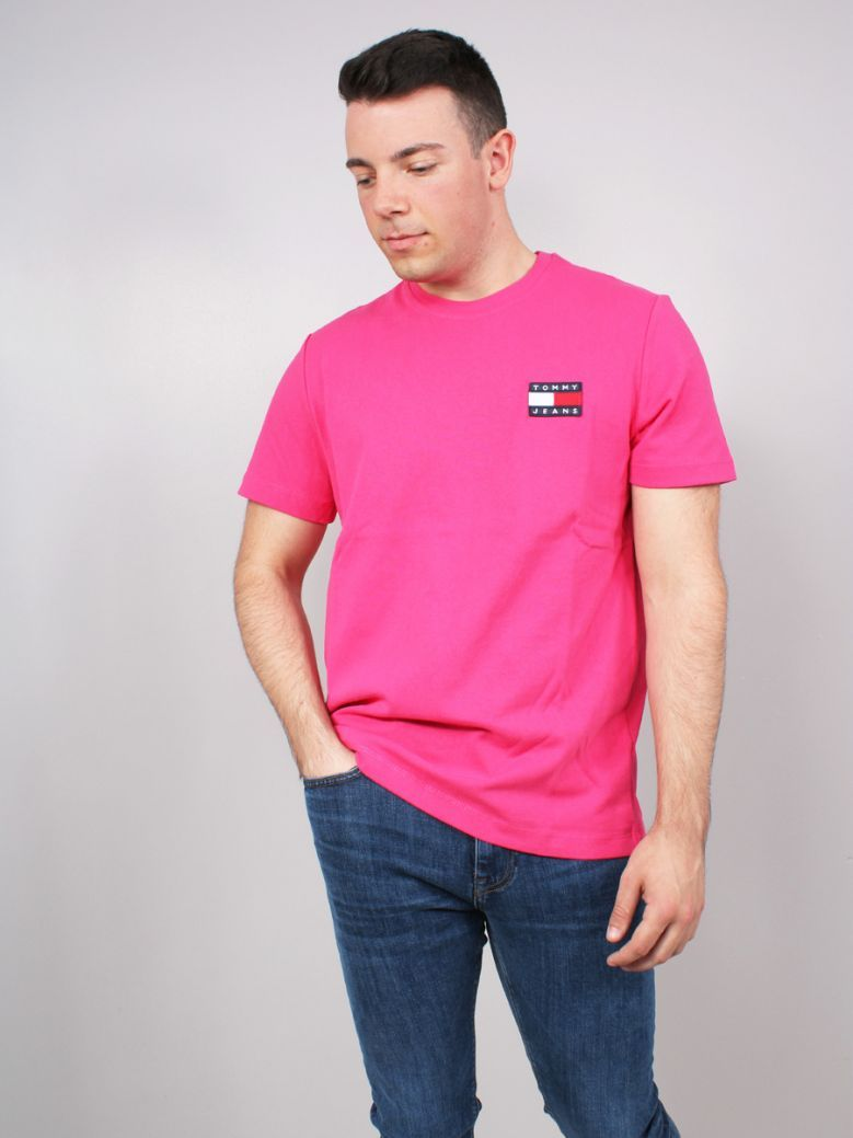 Tommy Jeans Organic Cotton Jersey Badge T-Shirt