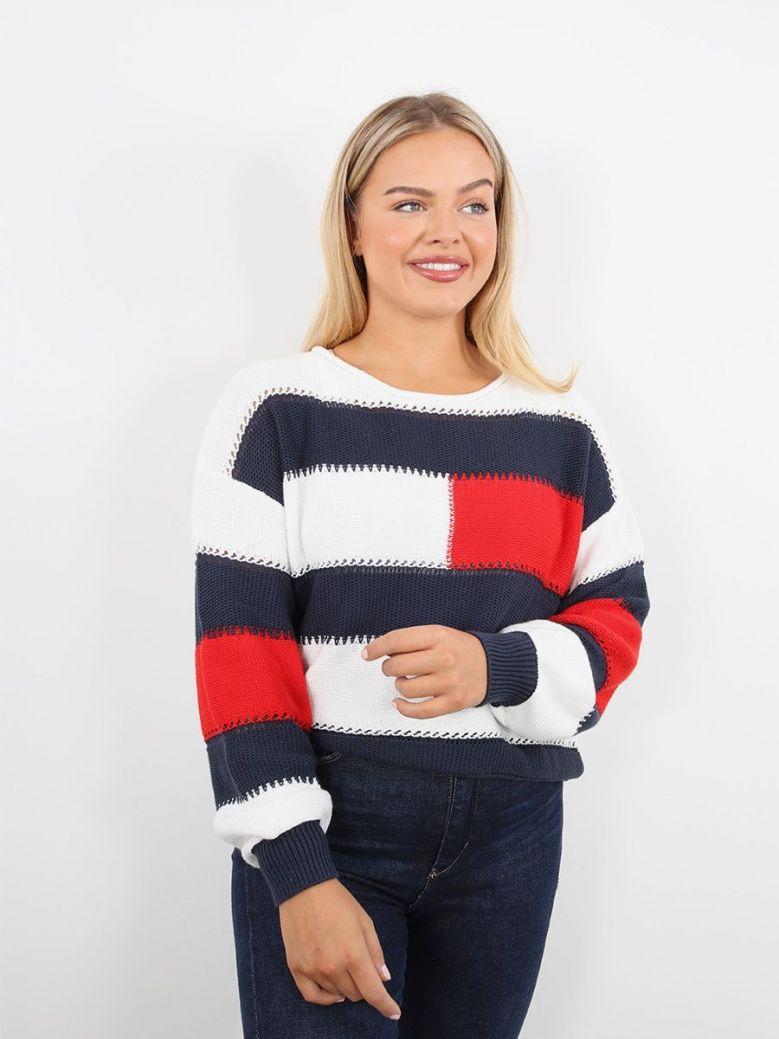 Tommy Jeans Stripe Sweatshirt Multi