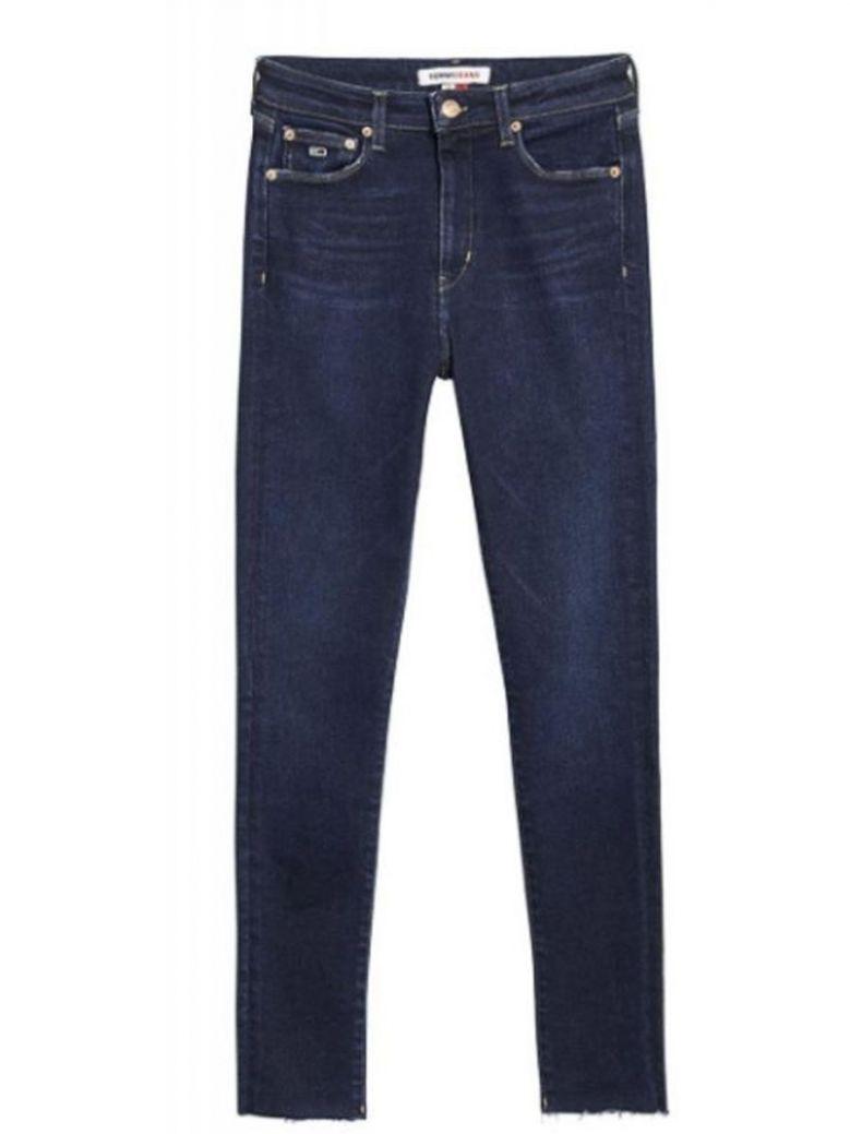 Tommy Jeans Sylvia High Rise Super Skinny Ankle Jeans Dark Denim