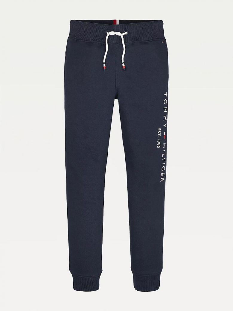 Tommy Hilfiger Essential Organic Cotton Cuffed Leg Joggers Navy