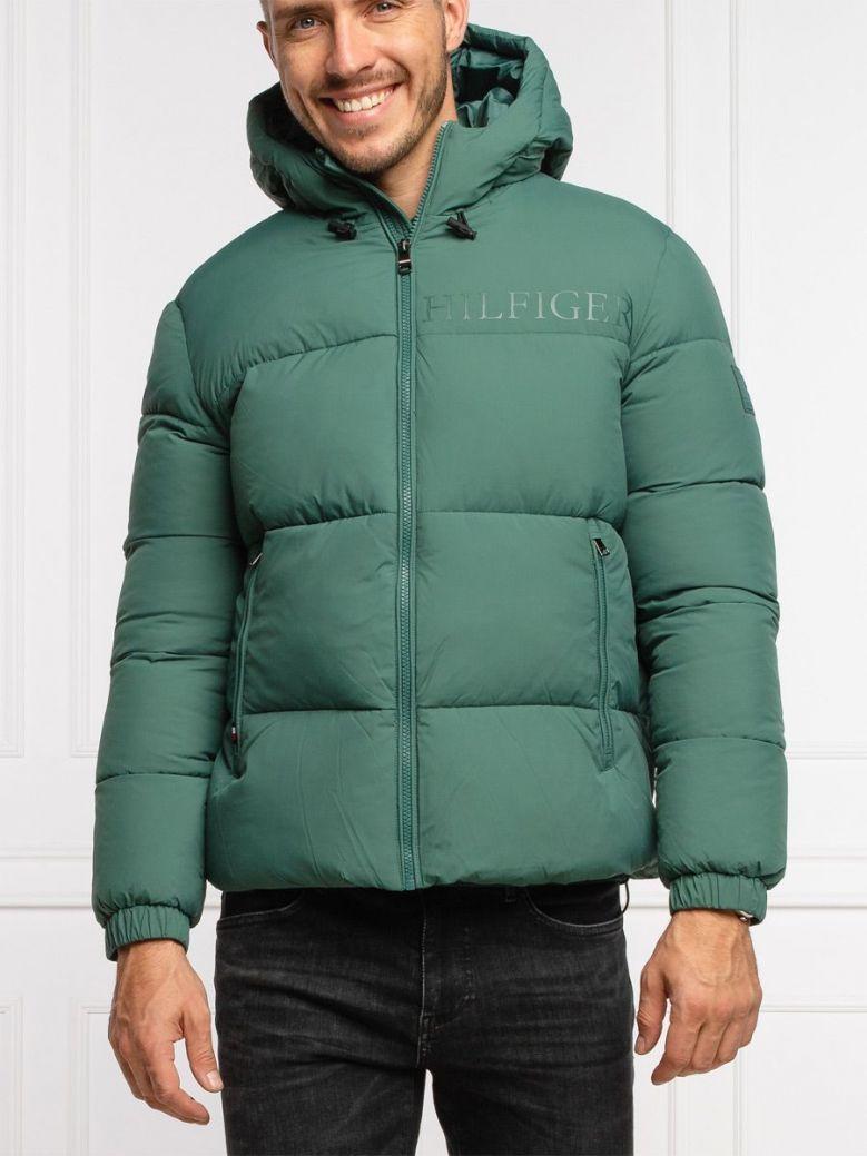 Tommy Hilfiger Warm High Loft Down Jacket Green
