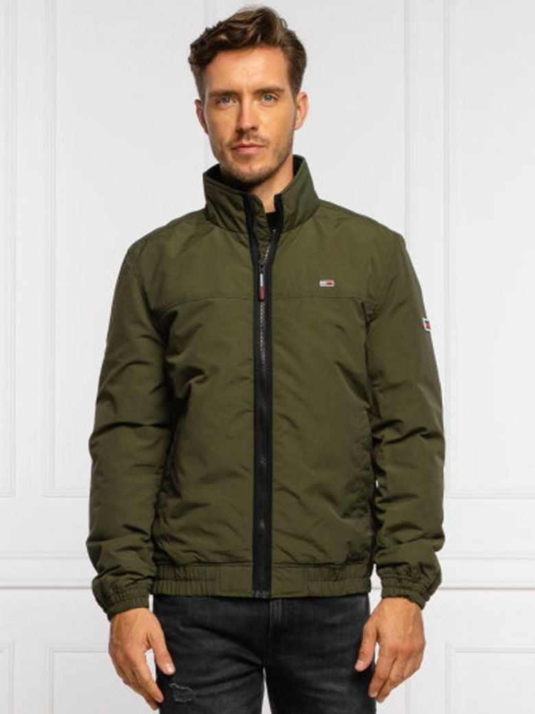 Tommy Jeans Essential Padded Jacket Green