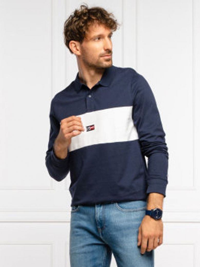 Tommy Jeans Polo Shirt Navy