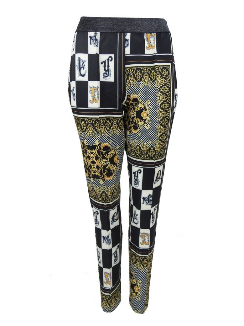 Jane & John by Tricotto Black and Gold Baroque Trousers