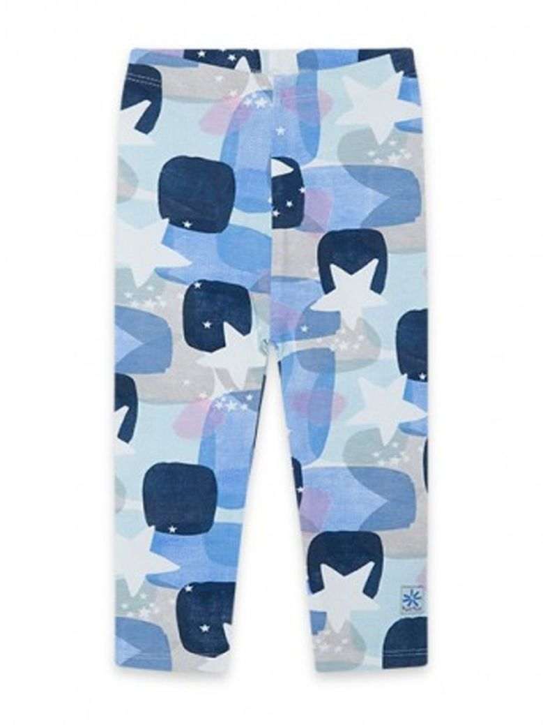 TucTuc Printed Leggings Blue