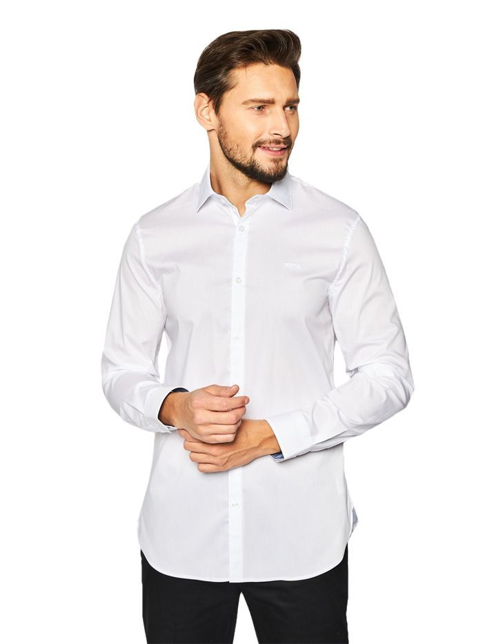 Guess White Slim Fit Shirt