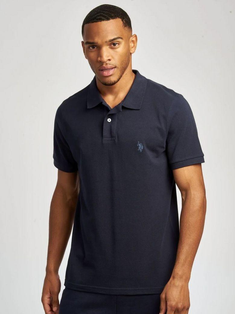 U.S. Polo Assn. Core Pique Polo Shirt Navy
