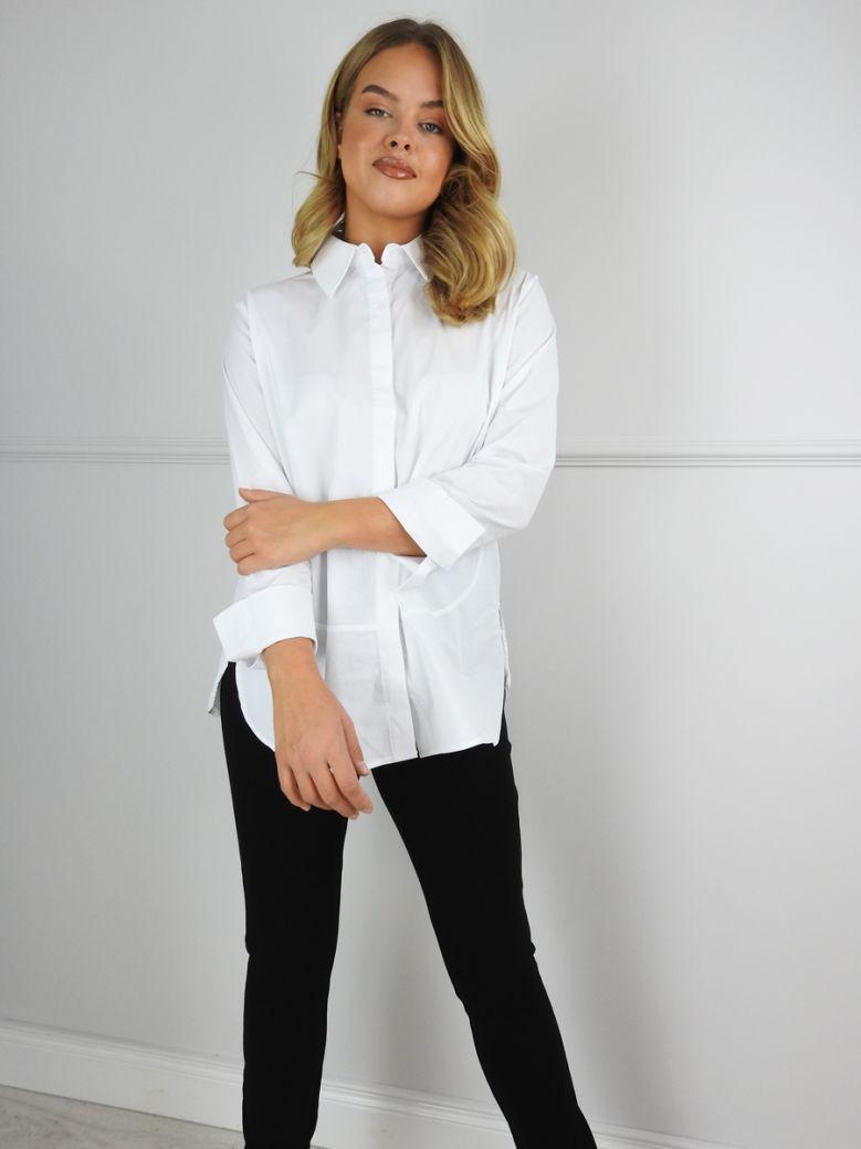 Uchuu White Classic White Shirt