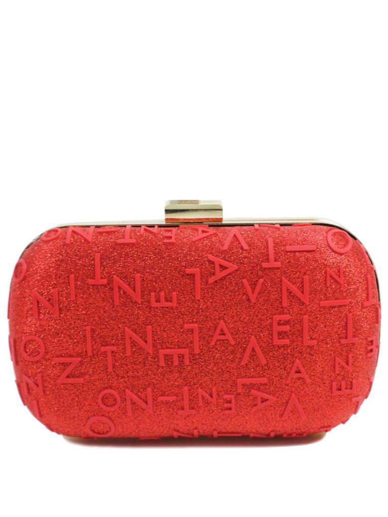 Valentino Red Pier Clutch Bag