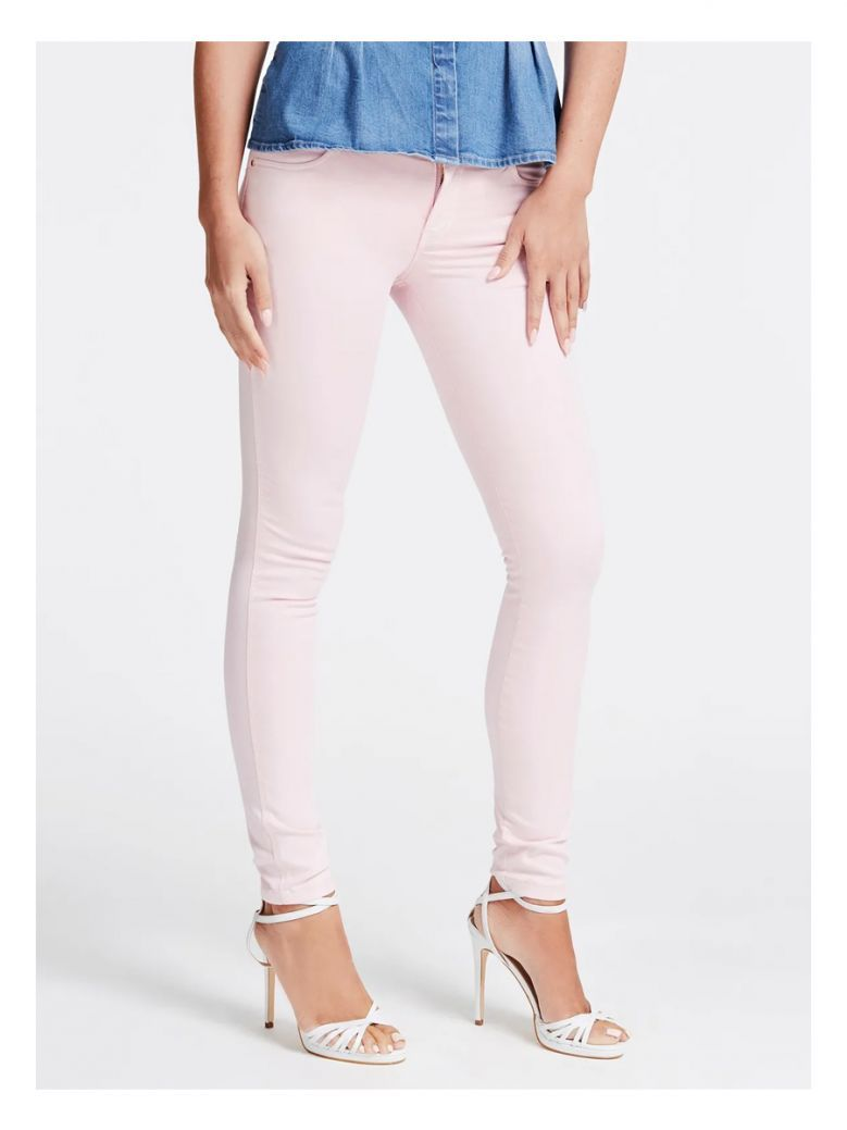 Guess Pink Skinny Fit Jeans