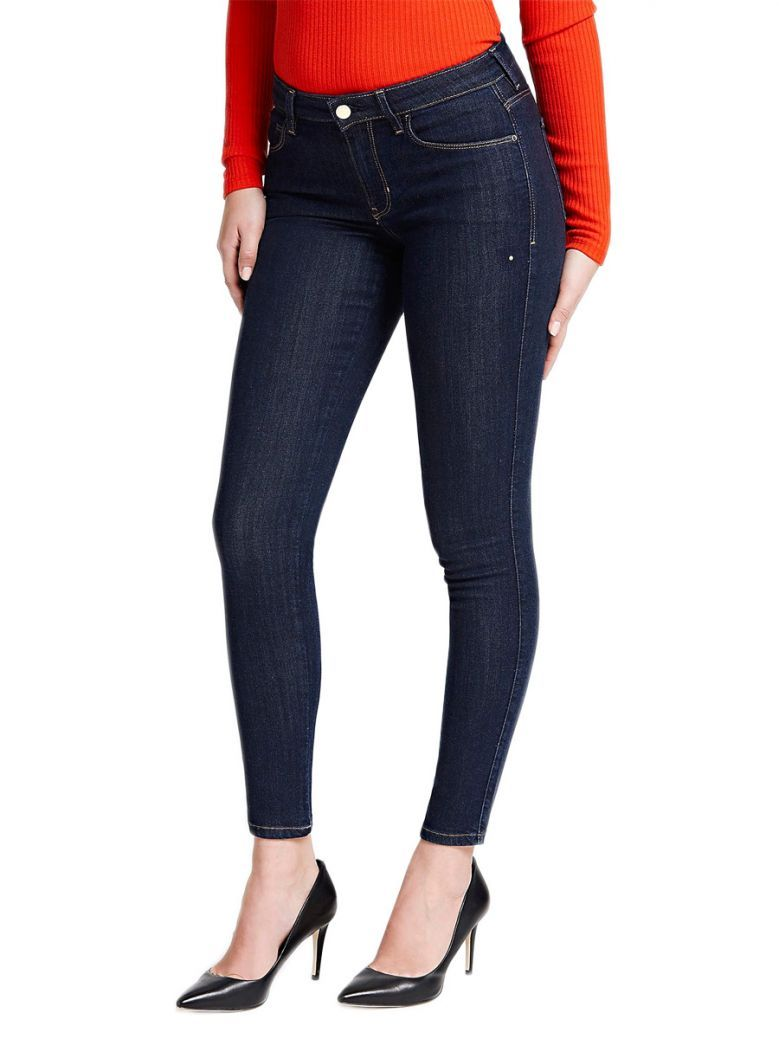 Guess Dark Blue Skinny Fit Denim Jeans