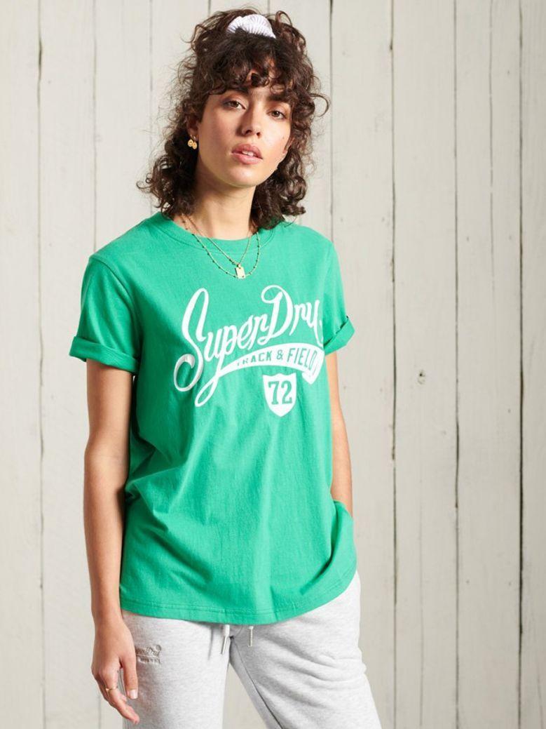 Superdry Evergreen Collegiate Cali State T-Shirt