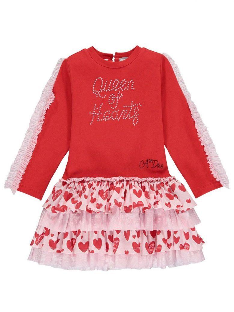 A Dee Red Queen of Hearts Elanna Dress