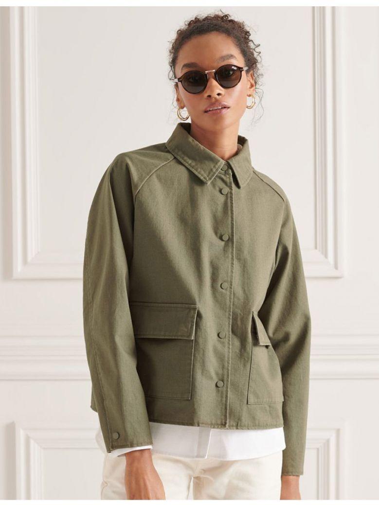 Superdry Moss Khaki Chore Coat