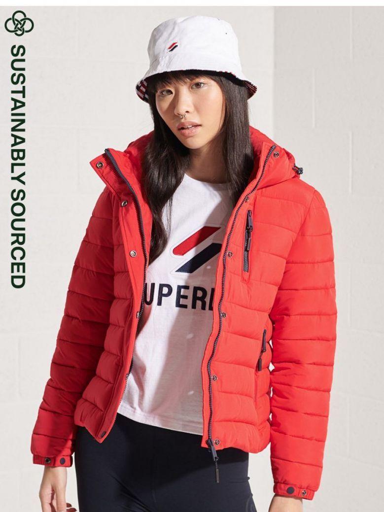 Superdry Varsity Red Classic Fuji Jacket