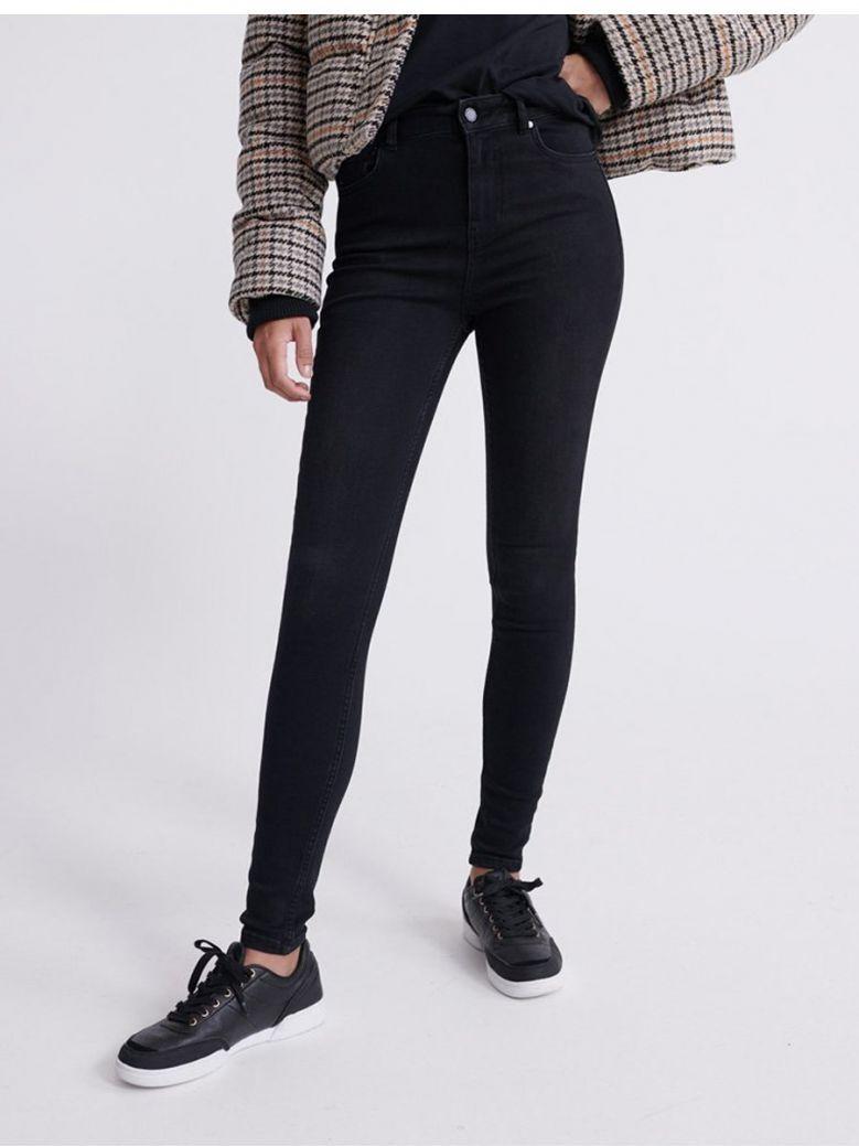 Superdry Black High Rise Skinny Jeans