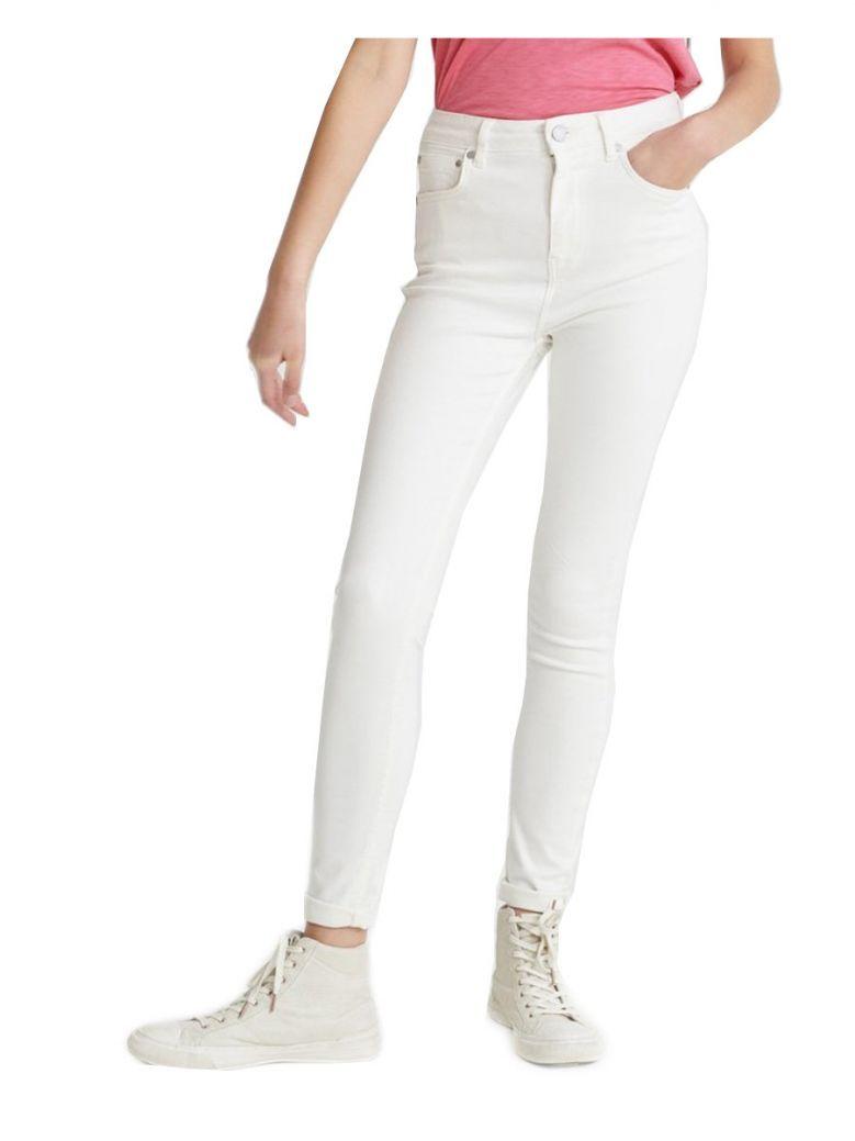 Superddry Denim Optic White High Rise Skinny Jeans