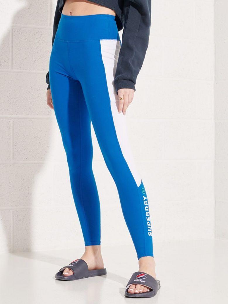 Superdry Royal Active Lifestyle Full Length Leggings