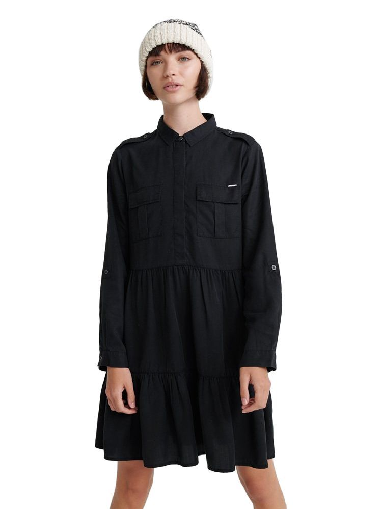 The Superdry Edit Washed Black Kathryn Dress