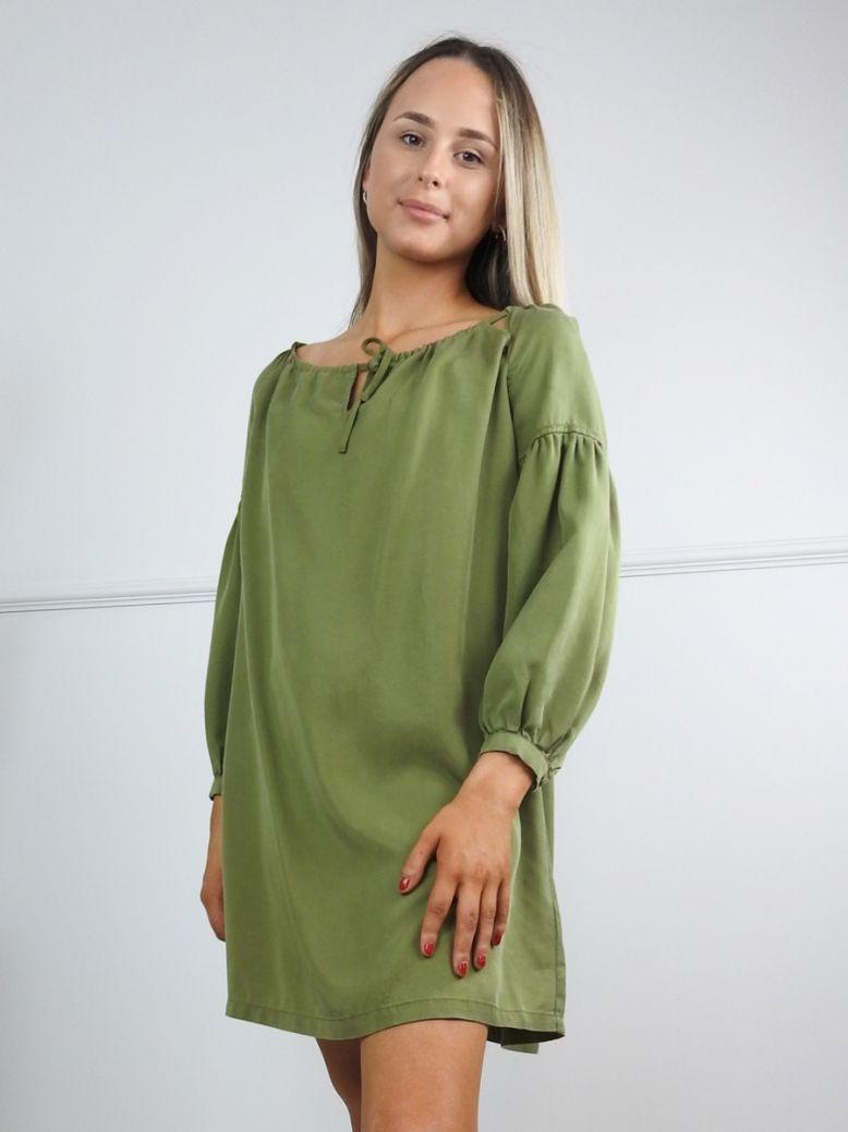 Superdry Capulet Olive Arizona Peek A Boo Dress