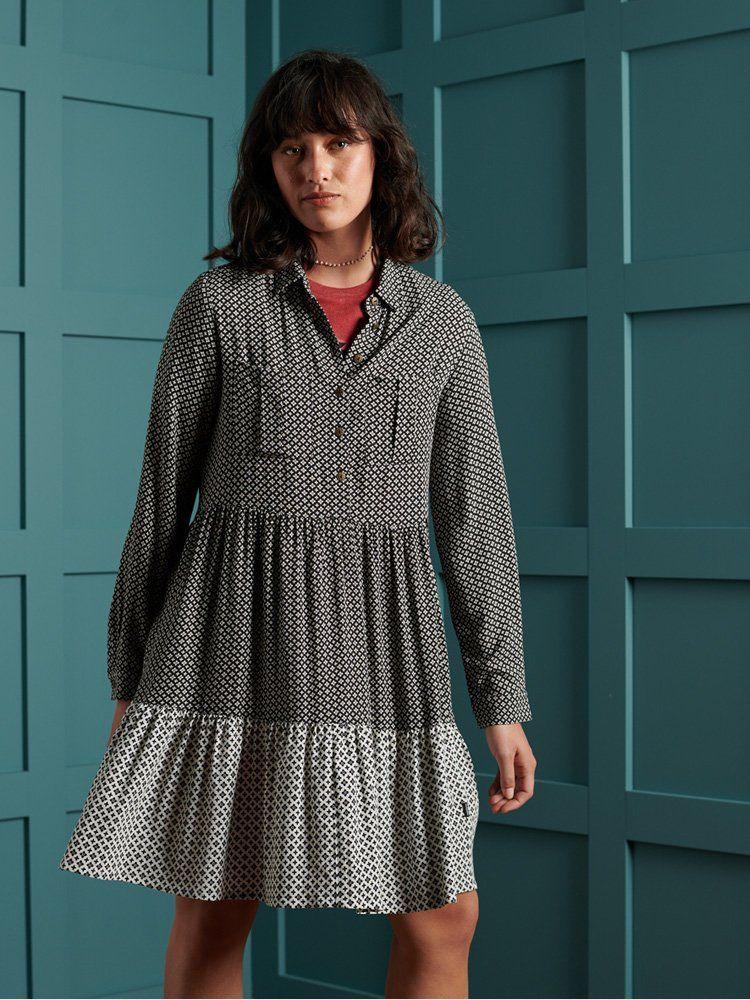 Superdry Print Kathryn Shirt Dress