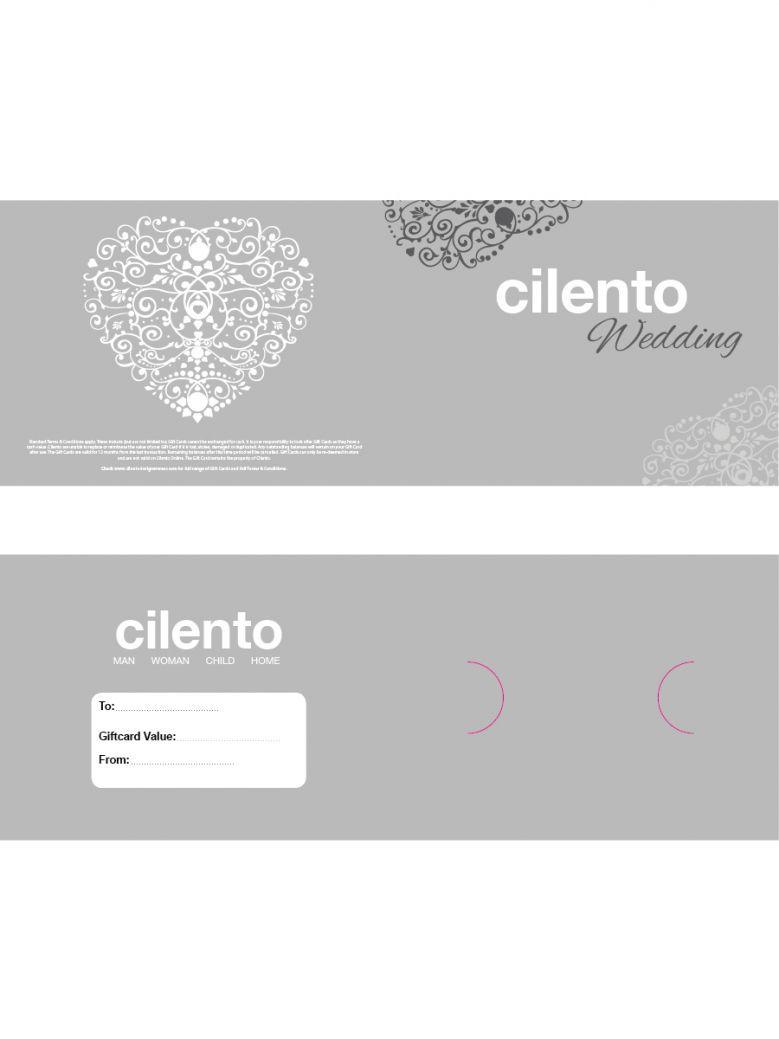Cilento Designer Wear Wedding Gift Card