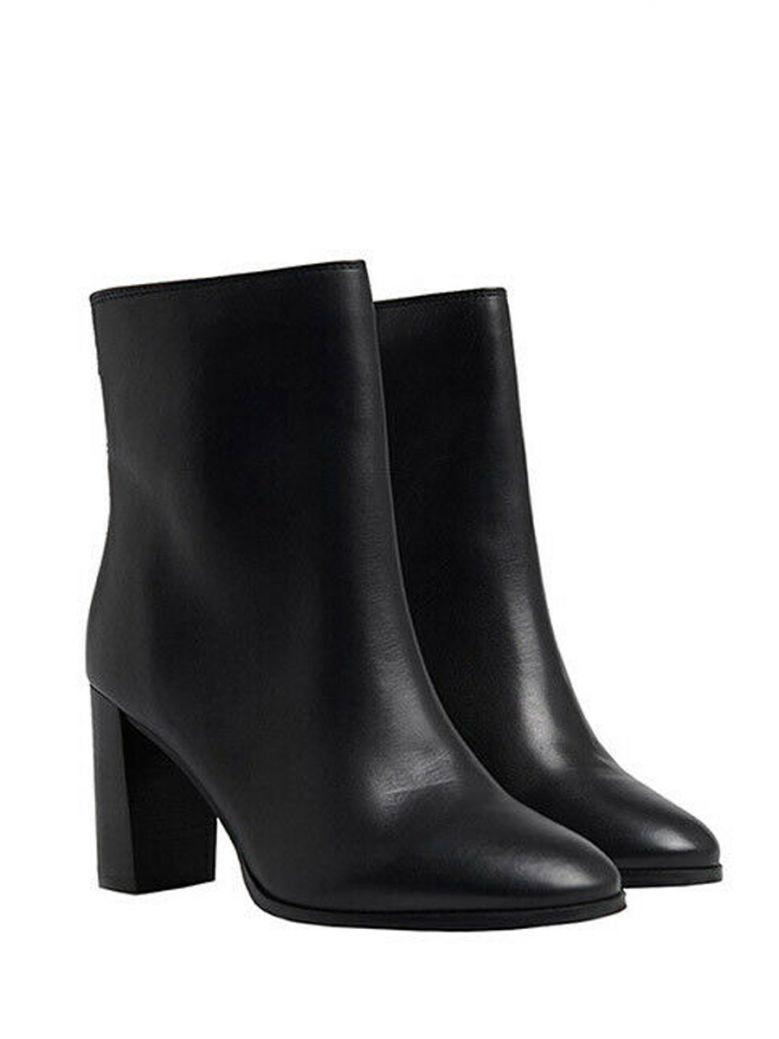Superdry Black The Edit Sleek High Boots