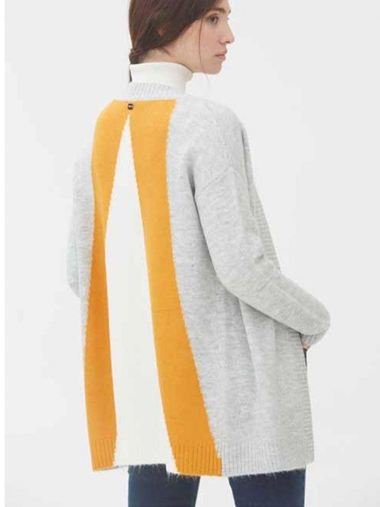 WNT Collection Longline Cardigan Grey