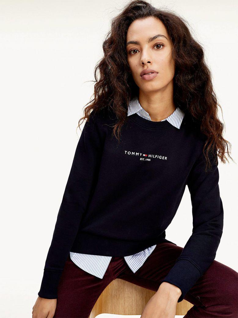 Tommy Hilfiger Essential Sweatshirt Navy
