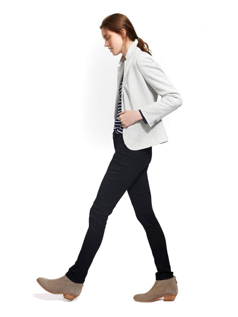Joules Monroe Black Super Skinny Jeans