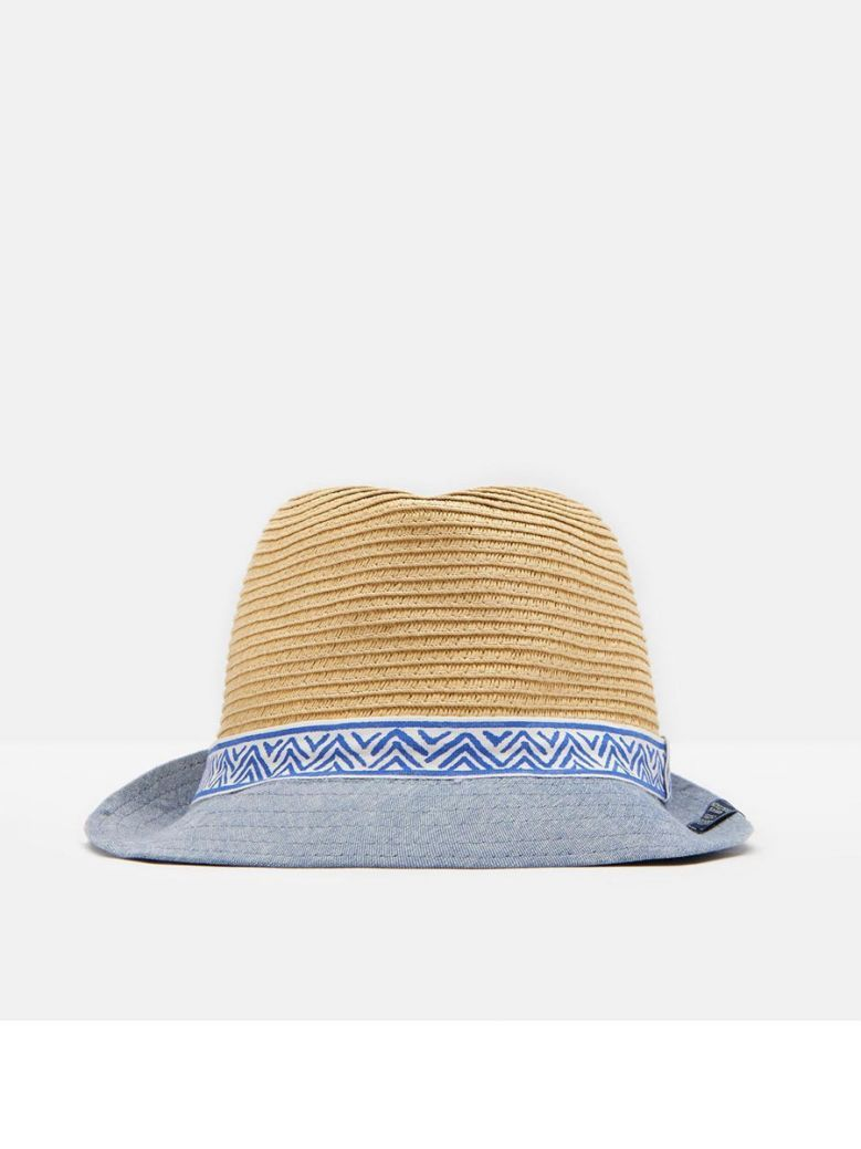 Joules Boys Natural Trilby Sun Hat