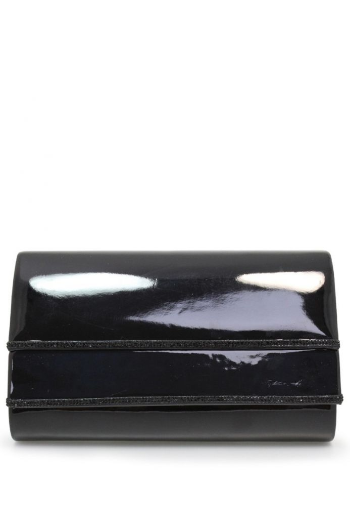 Lunar Elegance Black Romily Clutch Bag