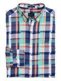 Gant Pool Green Regular Fit Madras Irregular Shirt 3014730 355