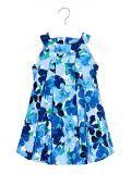 Mayoral Blue Floral Dress 3925 46