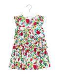 Mayoral Green Ruffled Floral Dress 3931 10