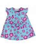 Agatha Ruiz De La Prada Turquoise Flower Dress 7024S19 TURQUOISE