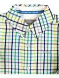 Boboli Citrus Checked Shirt 738154