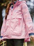 Alternative of model wearing Joules Roseberry Waterproof Swing Rainmac in Pink
