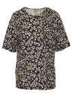 Superdry Leopard Print Desert Linen T-Shirt
